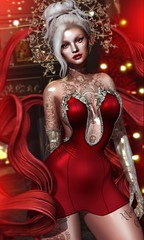 Naughty or Nice? (AliceInChains Arun) Tags: genus genusproject boldbeauty bossie randommatter truth truthhair cureless anthem aviglam ag slink eclat sl secondlife belle gok gardenofku