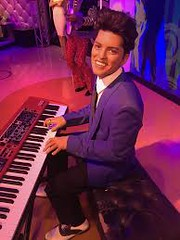 """Bruno Mars Wax Figure • <a style=""""font-size:0.8em;"""" href=""""http://www.flickr.com/photos/95217092@N03/49135025916/"""" target=""""_blank"""">View on Flickr</a>"""