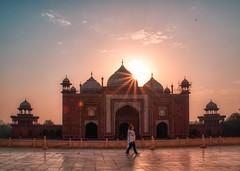 One fine bright morning in Taj Mahal (The Elephant's Tales Photography) Tags: simplysuperb monument incredibleindia historicalbuilding tajmahal theelephantstales travelphotography sunrise agra india traveling nikon z7 tamron28300mm scenicsnotjustlandscape morning glow nikonflickraward