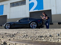 326/365 (boxbabe86) Tags: november abandoned sunday chevy corvette sanpedro loadingdock selftimed 365days 10secondtimer carchick iphone11promax 400views 300views