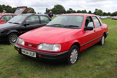 Ford Sierra Sapphire 1.8 LX H434XUF (Andrew 2.8i) Tags: festival unexceptional buckinghamshire middle claydon meet show coche voitures voiture autos auto cars euro european europe saloon sedan 1800lx 18lx 1800 lx 18 sapphire sierra ford h434xuf