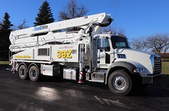 Putzmeister Concrete Pump Truck (raserf) Tags: putzmeister cancrete cement concrete pump pumper pumping mack truck trucks instagram sturtevant wisconsin racine county