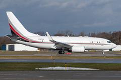 N737CM Boeing BBJ 30327 KPTK (CanAmJetz) Tags: n737cm boeing bbj 30327 kptk ptk bizjet aircradft airplane vip nikon