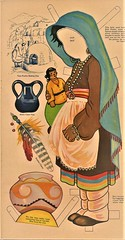 ZUNI GIRL (Kleiaa) Tags: nativeamerican nativeamericanpaperdoll zuni zunipaperdoll paperdoll