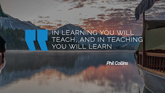 Quote by Phil Collins (persona.lab) Tags: quotes education thoughts emotions personality philcollins