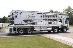 Putzmeister Telebelt TB 130 Truck (raserf) Tags: putzmeister telebelt tb 130 conveyor truck trucks cement concrete sturtevant wisconsin racine county mack pump pumper pumping