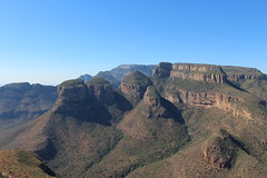 The Three Rondavels (Rckr88) Tags: mpumalanga southafrica south africa the three rondavels thethreerondavels mountains mountain cliffs cliff rocks rock nature naturalworld outdoors travel travelling blyde river canyon blyderivercanyon