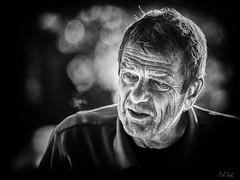 Odem/ Edema/ l'Esprit/ Ruach/ rûaḥ/ רוּחַ/ (Stefan A. Schmidt) Tags: schwarzweiss portrait germany impressive mann man homme