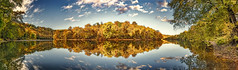 8R9A2391-97PtaMzl1TBbGERk2 (ultravivid imaging) Tags: ultravividimaging ultra vivid imaging ultravivid colorful canon canon5dm3 clouds autumn autumncolors trees reflections river lateafternoon countryscene sunsetclouds pennsylvania pa panoramic painterly landscape youghioghenyriver scenic vista evening fall tree