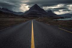 Iceland Road (Pascal Riemann) Tags: island natur berg strase landschaft wolken djupivogur djúpivogur iceland icelandisthecoolest landscape nature outdoor clouds