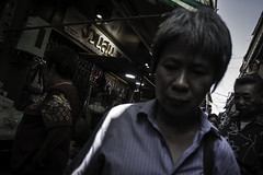 woman iii (Piotr Rataj) Tags: streetphoto street people thaiwoman thaigirl thaiman thai thaistreet thailand thaipeople chinatown bangkok bkk holidays travel walk inspire inspiration market food thaifood color asian