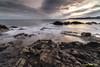 Textures X. (Ernest Bech) Tags: catalunya girona altempordà costabrava llançà mar sea seascape albada sortidadesol amanecer sunrise rocks roques landscape llargaexposició longexposure llums lights