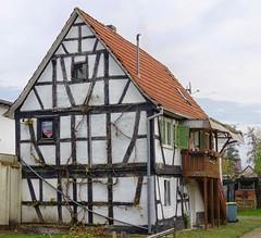 Dudenhofen Fachwerkhaus (wernerfunk) Tags: hessen architektur fachwerk dorf village