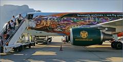 Notre Airbus A320 Tomorrowland, arrivée à Palerme, Sicile, Italie (claude lina) Tags: claudelina italie italy italia sicile sicilia palerme palermo avion plane airbus airbusa320 land tomorrowland