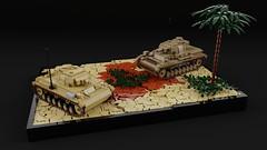 Afrika Korps Panzers (C.Ngoc) Tags: panzers ww2 tanks lego