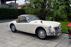MG A 1500 (Maurizio Boi) Tags: car auto voiture automobile coche old oldtimer classic vintage vecchio antique uk mg a 1500