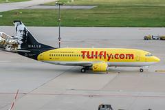 D-AGEE (PlanePixNase) Tags: stuttgart str edds echterdingen airport aircraft planespotting hapaglloyd express hlx boeing 737 737300 b733 leipzig halle händel bach 733