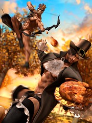 """FOOD FIGHT: A #TeamCP Thanksgiving"" (Part 1) (Chase Parthicus) Tags: thanksgiving november holiday autumn fallwinter fall secondlife secondlifegay secondlifehunks secondlifeblogger secondlifefashion sl slfashion slblogger slgay slhunks secondlifeart slmen secondlifeartwork slart slartwork secondlifemodel slmodel secondlifephotographer secondlifephotography slphotographer slphotography secondlifehalloween snow snowday foliage musclehunk mrsl2020 muscleman muscleworship mensfashion mrsl malemodel mensstyle bodybuilder bubblebutt gaysecondlife hotguy halloween"