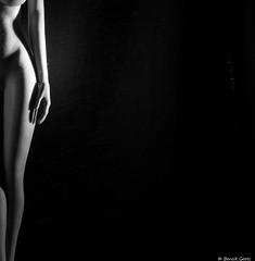 A demi mot, à demi corps (BenoitGEETS-Photography) Tags: demi half demie moitié a6000 sony figurine toys jouet phicen bw bn noiretblanc nb 16 hanche blackwhite jambe legs
