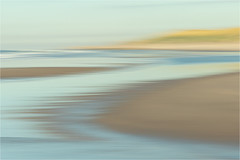 November Sea....... (Brigitte Lorenz) Tags: northsea tideland colors icm water seascape impressionism soft light abstract