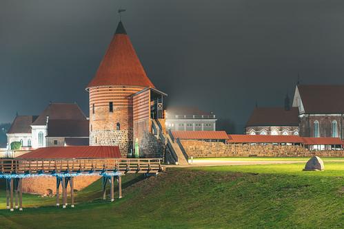 Kaunas castle at night | Lithuania #331/365