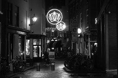 The Hague at night/For B/W~lovers (José D...) Tags: thehague thenetherlands denhaag nightonearth nightshot nightlight noflashnightshots bw zw sony sonycybershot dscrx100m3