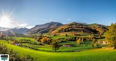 Ibarrolle-Panorama (https://pays-basque-et-bearn.pagexl.com/) Tags: 64 aquitaine colinebuch france nouvelleaquitaine paysbasque pyrénéesatlantiques montagne nature pyrénées sudouest plane vallée terre dibarrolle