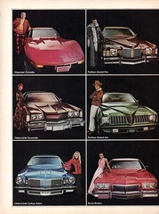 1974 General Motors Personal Cars Chevrolet Pontiac Oldsobile Buick Cadillac Piage 1 USA Original Magazine Advertisement (Darren Marlow) Tags: 1 4 7 9 19 74 1974 g m gm general motors p personal c car chev chevy chevrolet pontiac o oldsmobile b buick cadillac cool collectible collectors classic a automobile v vehicle u s us usa united states american america 70s