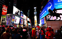 Times Square at Night (WilliamND4) Tags: nyc timessquare newyorkcity people crowd elmo nikon d750