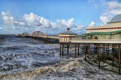 North Pier, Blackpool, UK (crafty1tutu (Ann)) Tags: travel holiday 2019 unitedkingdom uk england blackpool water pier northpier waves roughseas crafty1tutu canon5dmkiii canon24105lserieslens anncameron