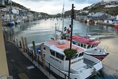 Looe (suekelly52) Tags: looe boats river harbour stuffonships