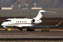 N776QS (SoCalSpotters) Tags: eja776 n776qs netjets socalspotters ksdl scottsdale canadair bombardier challenger300