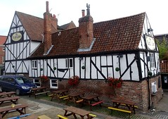 [82167] York : Red Lion (Budby) Tags: york northyorkshire timbered pub publichouse