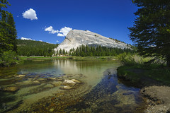 Summer Along the Banks of the Tuolumne (RobertCross1 (off and on)) Tags: a7rii alpha ca california emount fe1635mmf4zaoss highsierra ilce7rm2 lembertdome sierranevada sierras sony tuolumne tuolumnemeadows tuolumneriver yosemite yosemitenationalpark bluesky clouds creek forest fullframe landscape mirrorless mountains river stream trees water