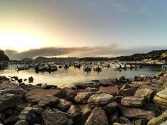 Tramonto a Lerici (vannuc) Tags: panorama weekend liguria golfo sky tramonto sunset italy lerici sea gopro
