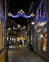 Es leuchtet wieder... (r.wacknitz) Tags: goslar lowersaxony harzmountains altstadt oldtown weltkulturerbe unescoweltkulturerbe advent outdoors architektur architecture nikond5600 nikkor35mm18 lightroom