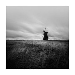 Upstanding ! (Nick green2012) Tags: square landscape silence windmill longexposure blackandwhite