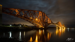 On That Night (TVZ Photography) Tags: 169 forthbridge firthofforth queensferrycrossing southqueensferry westlothian scotland river water reflection bridge architecture sky night evening lowlight longexposure sonya7riii zeiss loxia 21mm