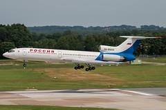 RA-85836 (PlanePixNase) Tags: aircraft airport planespotting haj eddv hannover langenhagen tupolev t154 tu154 154 pulkovo rossia