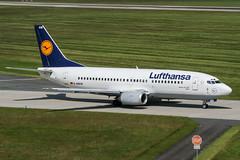 D-ABXW (PlanePixNase) Tags: aircraft airport planespotting haj eddv hannover langenhagen lufthansa boeing 737 737300 b733 733