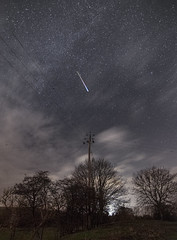Powerlines & Meteors (Trev Packer Photography) Tags: landscape prints astro astrophotography stars