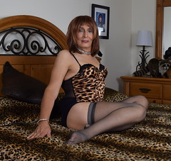 More risky business (ericaklein8) Tags: lingerie hot cute sexy legs stockings sitting fetish tv td ts trans tranny transgender tgirl feminine attractive glamour sensual