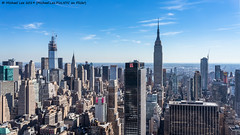 Midtown View (20191019-DSC00217) (Michael.Lee.Pics.NYC) Tags: newyork manhattanwest ohny openhousenewyorkweekend aerial architecture cityscape skyline skyscraper sony a7rm2 fe24105mmf4g esb empirestatebuilding onevanderbilt chryslerbuilding pennplaza newyorkerhotel