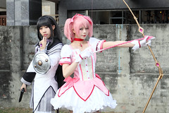 MiNe-M5_103-1235UG (MiNe (sfmine79)) Tags: taiwan cosplay fancyfrontier winter sunny 台灣 高雄 gps 魔法少女まどか☆マギカ canoneosm5 canonef1740mmf4lusm photo
