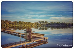 Serenity (Stathis Iordanidis) Tags: lakekrickenbecker lakeside lakeshore pier bluewater bluesky bluecolors serenity tranquility