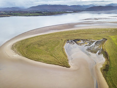 Inch Strand (Sean Hartwell Photography) Tags: inch strand drone aerial beach sea atlantic wildatlanticway kerry countykerry ireland dji mavicpro water mountains dingle peninsula bay