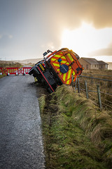 A Deep Clean (MBDGE) Tags: orkney sweeper council crash accident lorry truck roadsweeper canon eosr