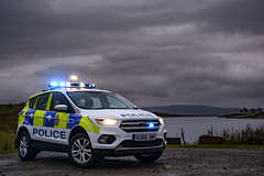 EO68 JWF (S11 AUN) Tags: durham constabulary ford kuga anpr equipped rural policing team specials police panda car incident response vehicle irv 999 emergencyvehicle eo68jwf