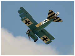 Fokker DR1 (Aerofossile2012) Tags: avion aircraft aviation meeting airshow laferté 2018 dogfight war ww1 wwi 1418 fokker