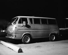 Mamiya RB67 / Kodak Tri-X 400 pushed to 1600. (Fistfulofpowder) Tags: 1965 ford econoline van kodak trix 400 pushed 1600 night photography film medium format 120 6x7 mamiya rb67 edmonton alberta canada silvervisionfilm ilfotec ddx developer
